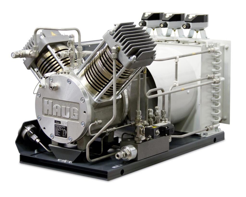 Sprężarka bezolejowa wysokociśnieniowa chłodzona powietrzem HAUG Mercure ATEX