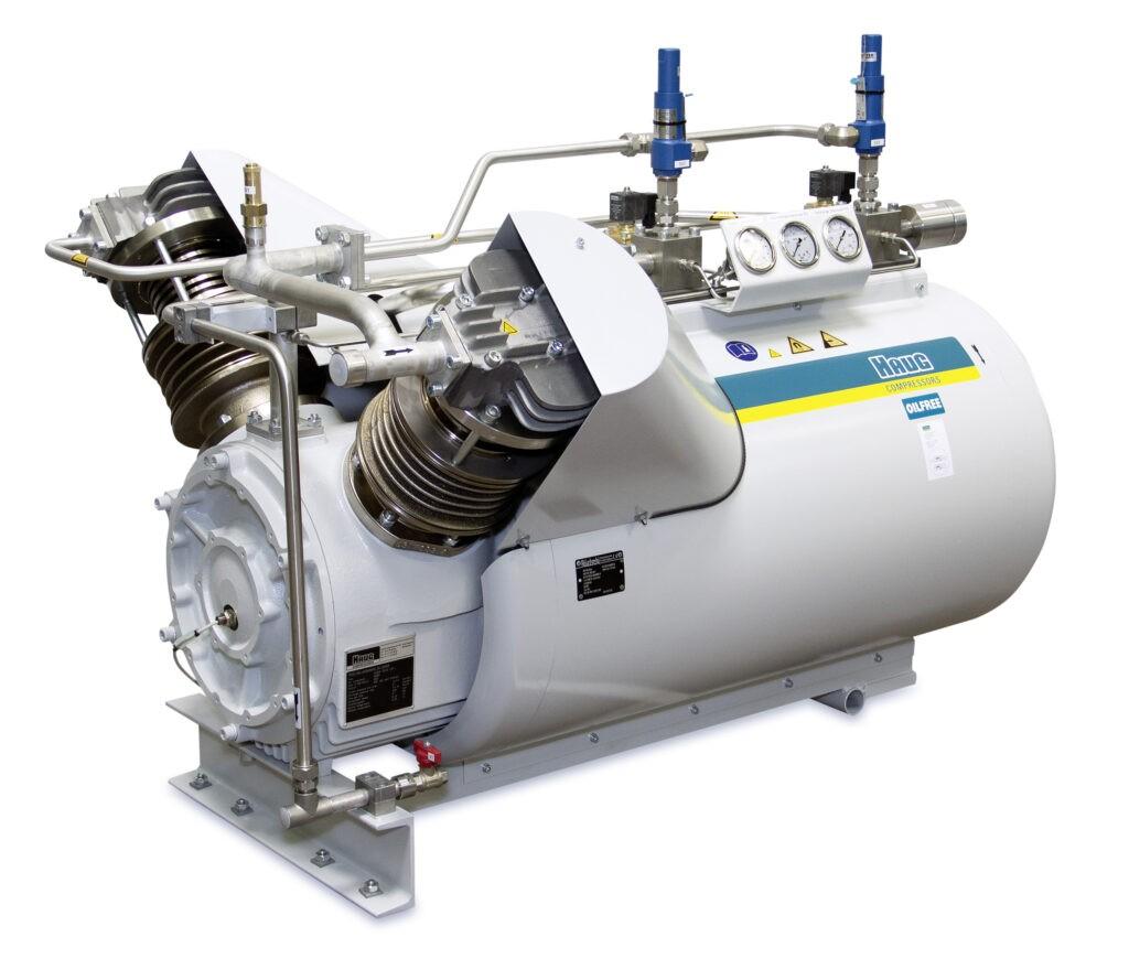 Sprężarka bezolejowa wysokociśnieniowa chłodzona powietrzem HAUG Sirius OilFree