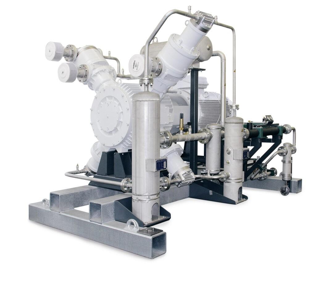 Sprężarka bezolejowa wysokociśnieniowa chłodzona powietrzem HAUG Titan OilFree