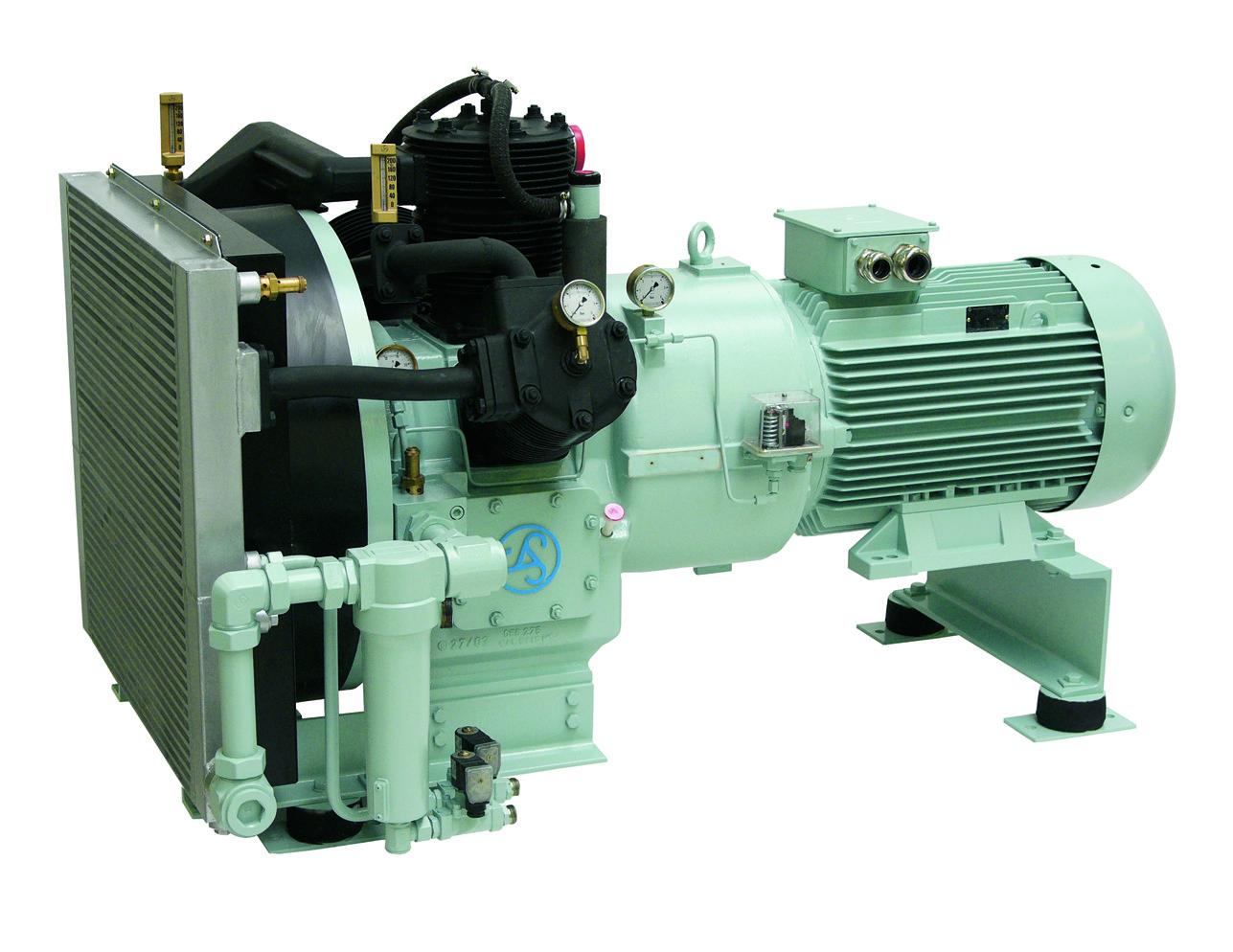 Sprężarki wysokociśnieniowe tłokowe MISTRAL 2 x WP65L wersja z osuszaczami i zbiornikami MISTRAL WP146L Basic