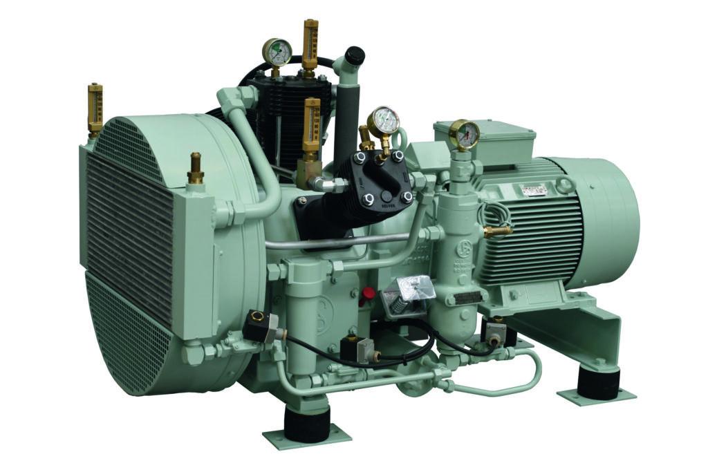 Sprężarki wysokociśnieniowe tłokowe PASSAT WP81L Basic
