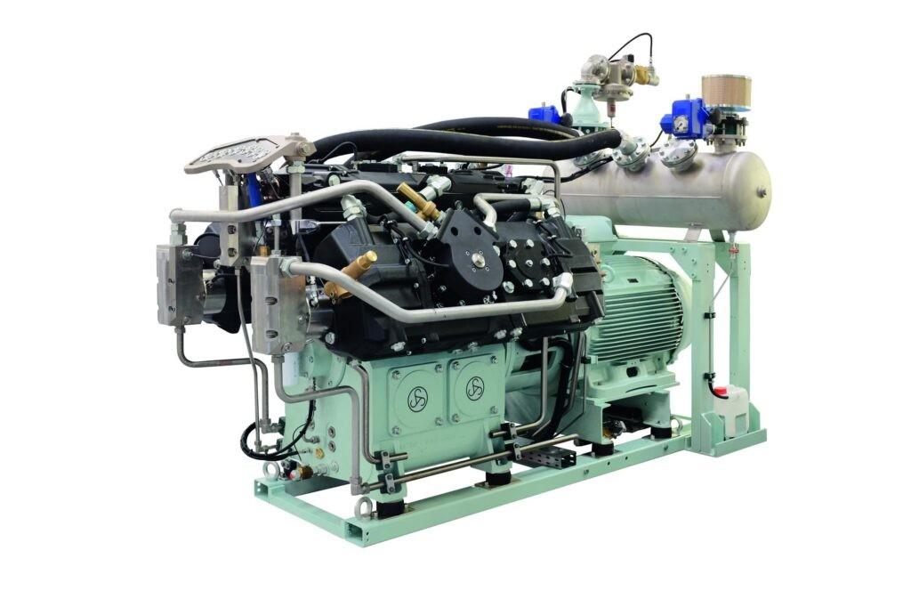 Sprężarka wysokociśnieniowa tłokowa WP 6000, WP 6550 BasSeal