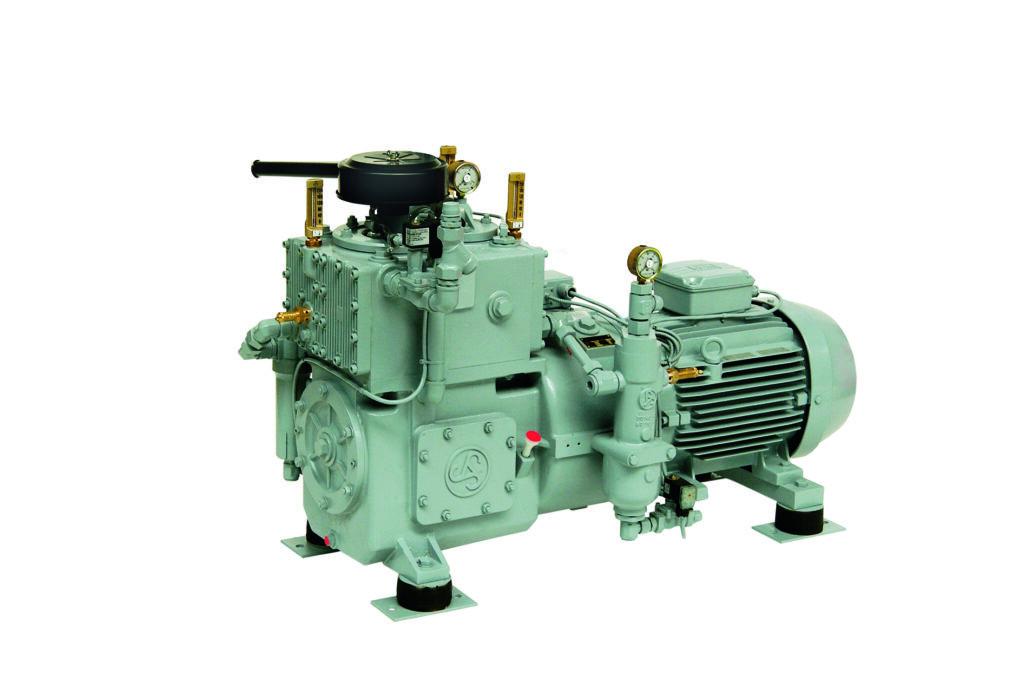 Chłodzone wodą sprężarki wysokociśnieniowe tłokowe TYPHOON WP100